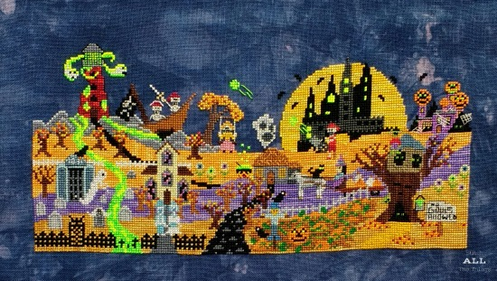 Stitch ALL The Things | Ship's Manor Mystery Halloween Town Finish
