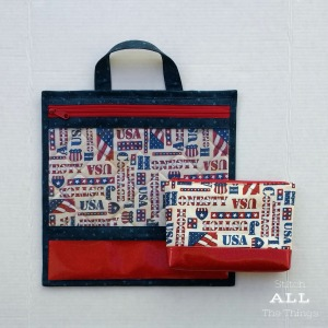 Stitch ALL The Things   USA Project Bag