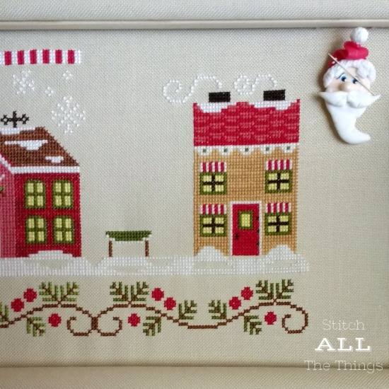 Stitch ALL The Things | Mrs. Claus' Cookie Shop Progress