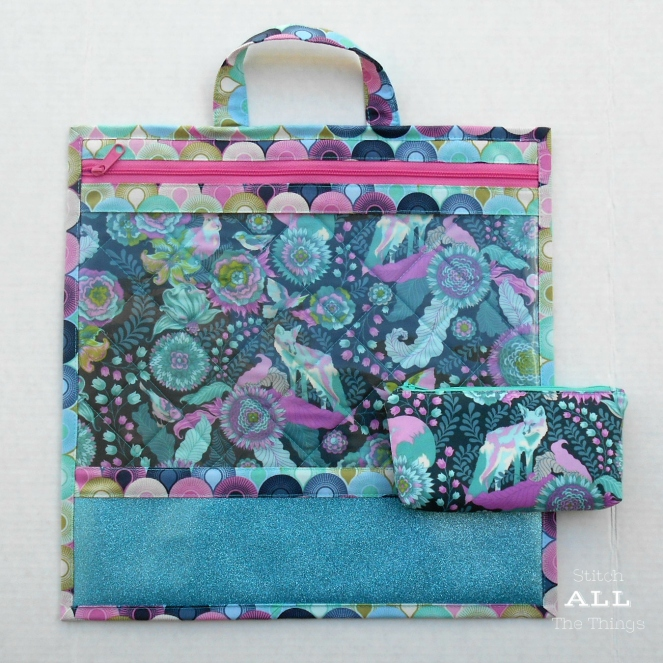 Stitch ALL The Things | Project Bag Foxfield in Dusk