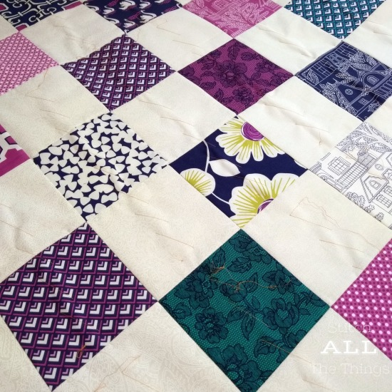 Stitch ALL The Things | Four Patch Quilt