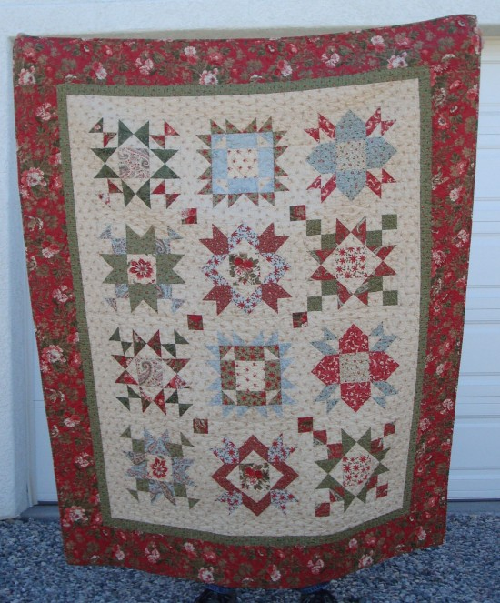 Stitch ALL The Things | Among The Stars BOM Quilt