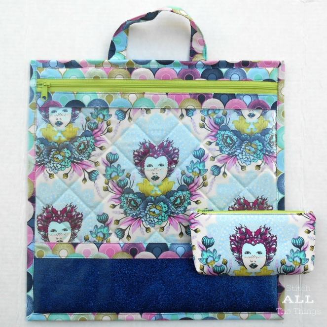 Stitch ALL The Things | Project Bag Elizabeth in Sky