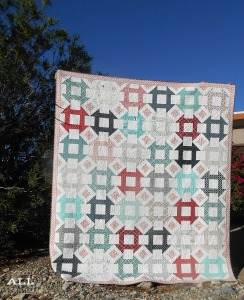 Stitch ALL The Things | Churning Diamonds Quilt