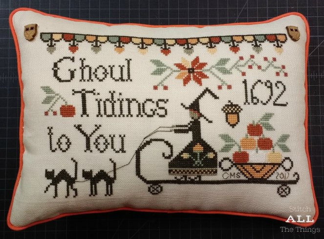 Stitch ALL The Things | Ghoul Tidings Pillow