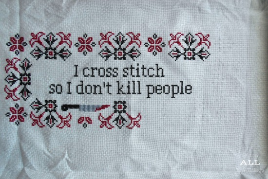 Stitch ALL The Things | I Cross Stitch