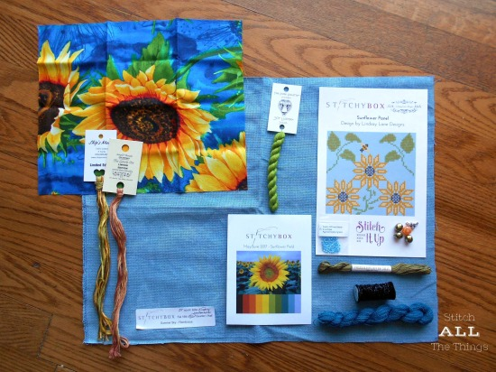 Stitch ALL The Things | Stitchy Box May-June 2017