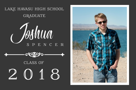 Stitch ALL The Things | Josh Graduation Announcement