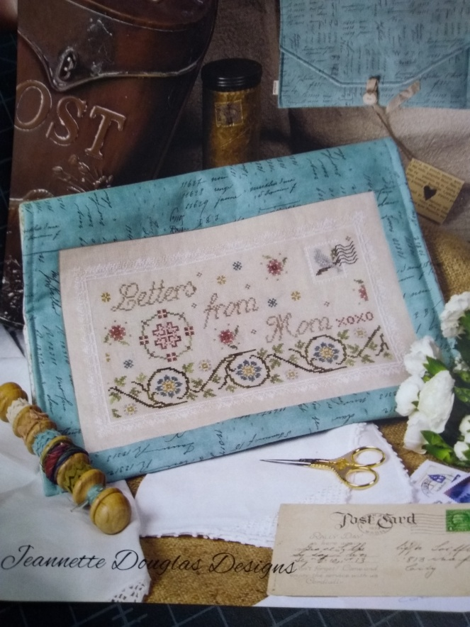 Stitch ALL The Things | Letters From Mom by Jeanette Douglas