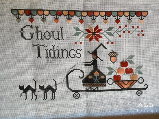 Stitch ALL The Things | Ghoul Tidings WIP