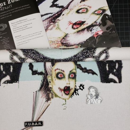 Stitch ALL The Things | Burlesque Zombie Progress