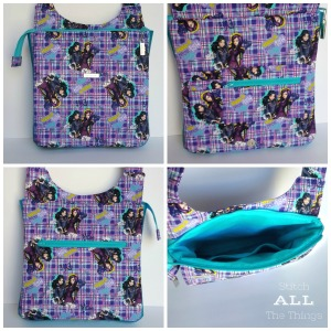 Stitch ALL The Things   Descendants Hyacinth Bag