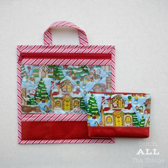 Stitch ALL The Things | Seasons Greetings Project Bag