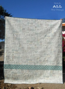 Stitch ALL The Things   Feed Company by Sweetwater Quilt Backing