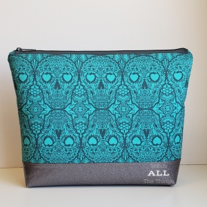 Stitch ALL The Things | Skulls Project Bag