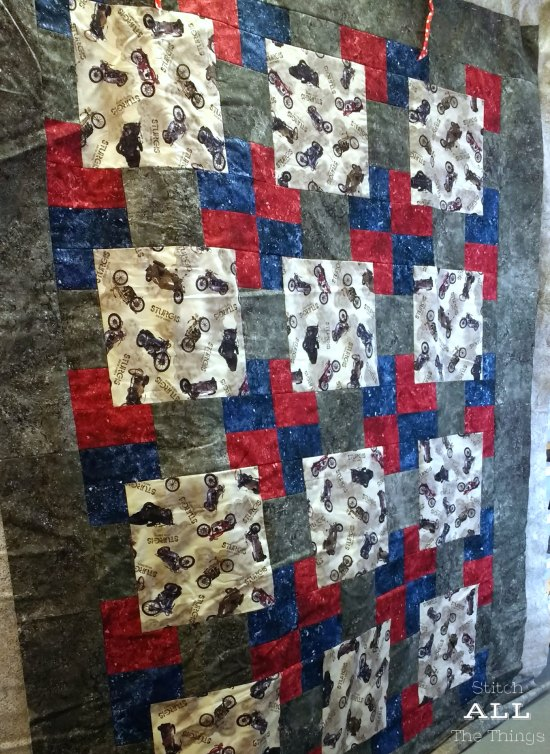 Stitch ALL The Things | Sturgis Quilt Top