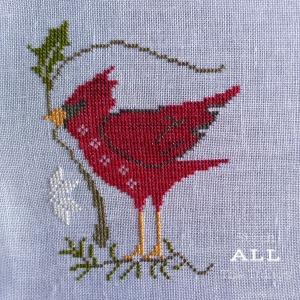 Stitch ALL The Things | Tis The Season Progress