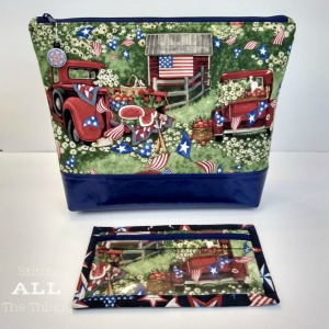 Stitch ALL The Things | Patriotic Picnic Bag