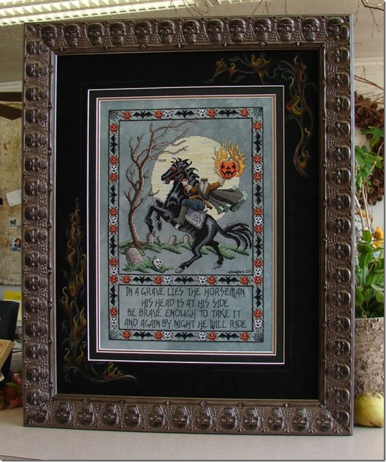 Stitch ALL The Things | Sleepy Hollow Framed by Rensel Studios