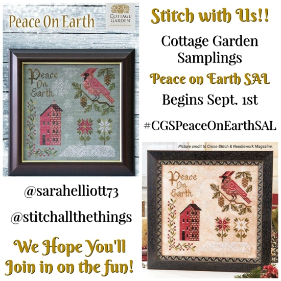 Stitch ALL The Things | Peace On Earth SAL