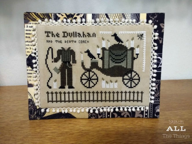 Stitch All The Things | Dullahan and the Death Coach Flat Fold Front