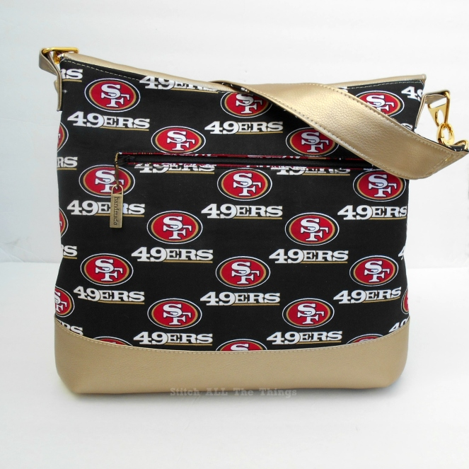 Stitch ALL The Things | 49er Hippo Hobo Bag