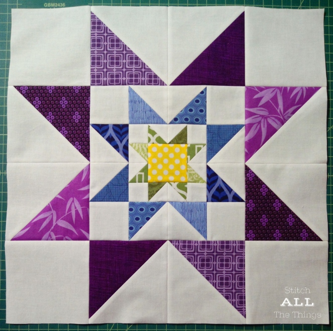 September Bee Block Redo