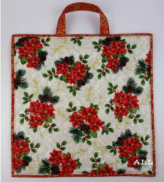 Stitch ALL The Things | Poinsettia Back