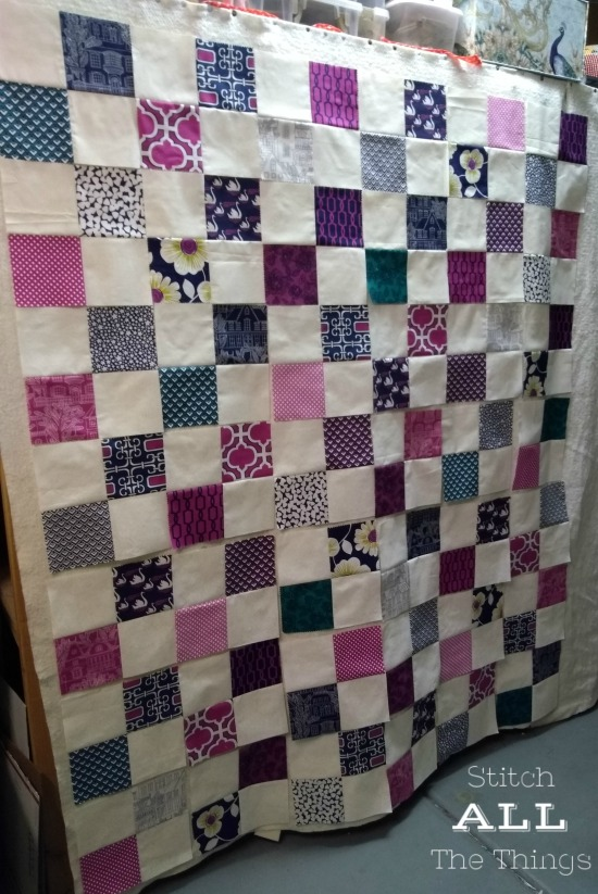 Stitch ALL The Things | The Four Patch Quilt Blocks