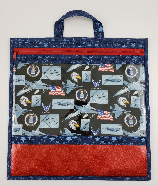 Stitch ALL The Things   Air Force Project Bag