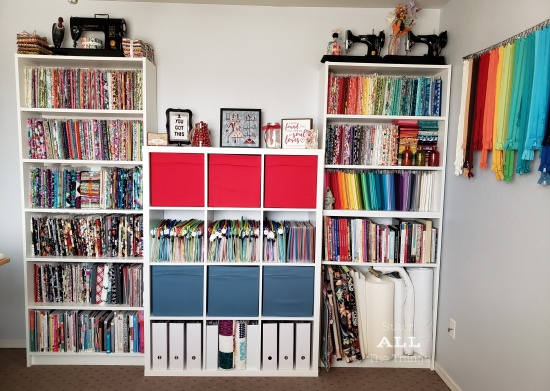 Stitch ALL The Things | BIlly Book Cases and Kallax