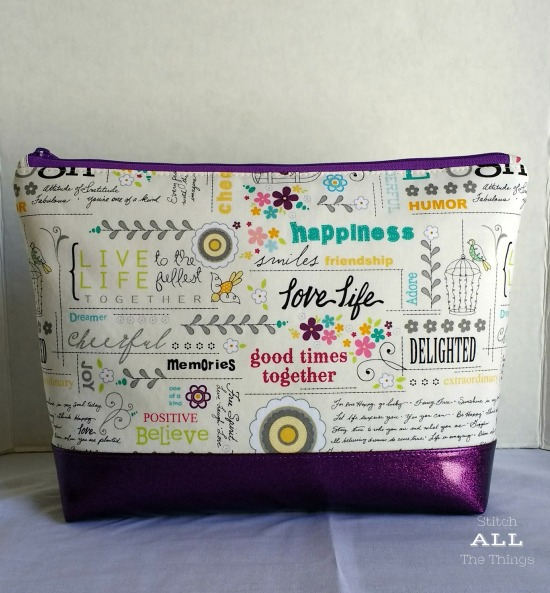 Stitch ALL The Things | Live Love Life Project Bag