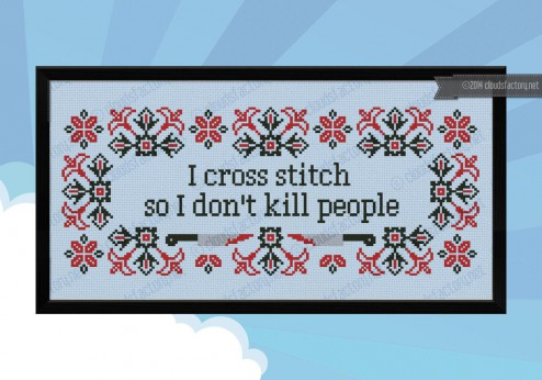 Stitch ALL The Things | Clouds Factory I Cross Stitch