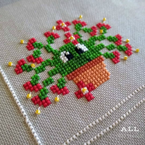 Stitch ALL The Things | Gabriel The Christmas Cactus
