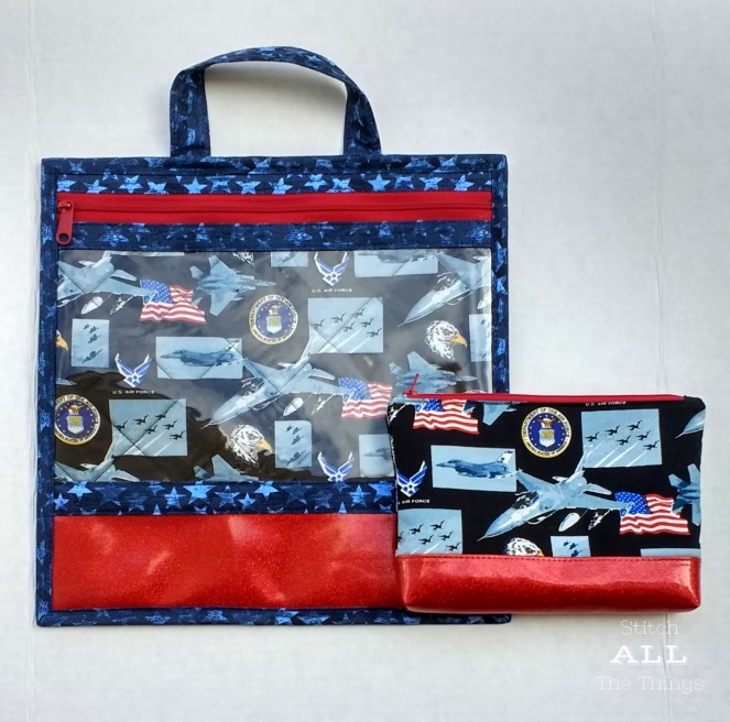 Stitch ALL The Things | Air Force Project Bag
