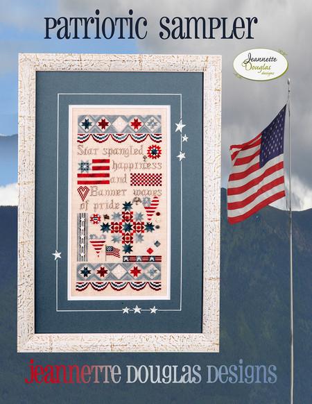 Patriotic Sampler by Jeanette Douglas