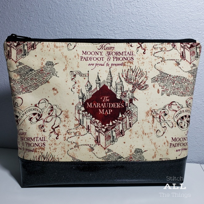 Stitch ALL The Things | Marauder's Map Project Bag