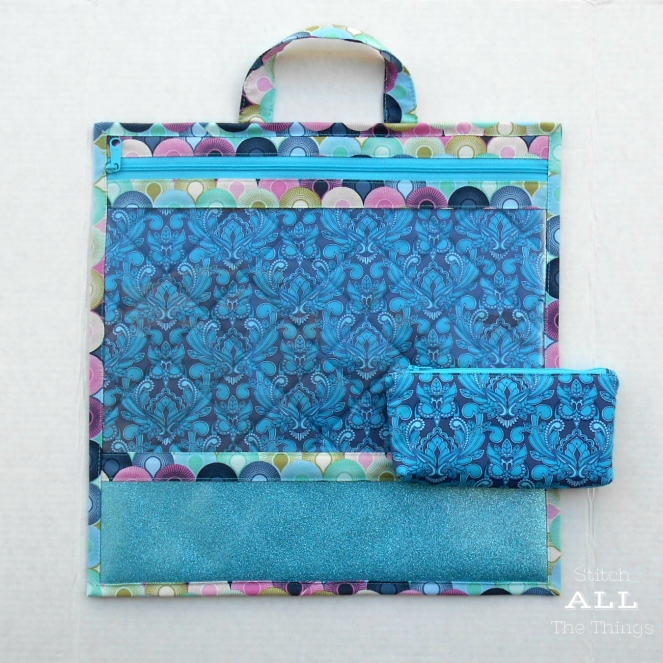 Stitch ALL The Things | Project Bag True Colors Mini Owls