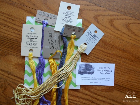 Stitch ALL The Things | Just The Threads Stitchy Box Subscription