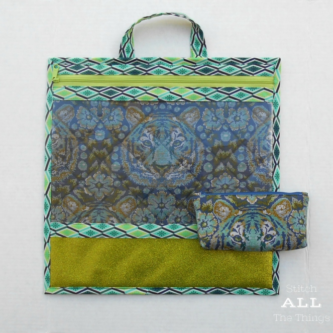 Stitch ALL The Things | Project Bag Crouching Tiger in Sapphire