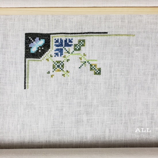 Stitch ALL The Things | Cardinal Points Day 1 Progress