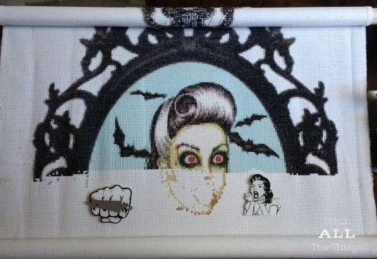 Stitch ALL The Things | Burlesque Zombie Portrait