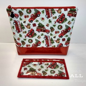 Stitch ALL The Things | Christmas Project Bag