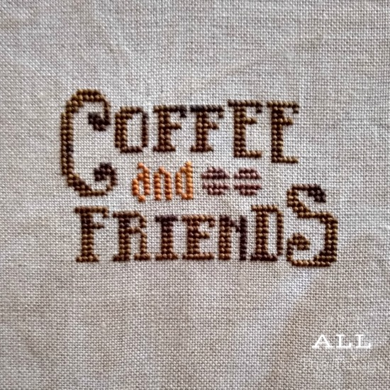 Stitch ALL The Things | Coffee and Friends New Start