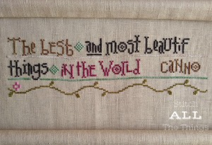 Stitch ALL The Things | Things Unseen Progress