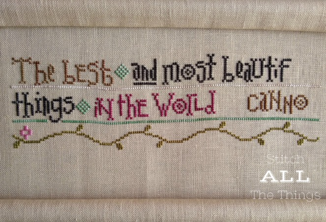 Stitch ALL The Things   Things Unseen Progress