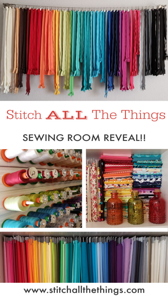 Stitch ALL The Things | Sewing Room Reveal