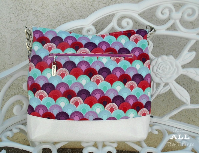 Stitch ALL The Things | Hippo Hobo Bag pattern by Emkie Designs
