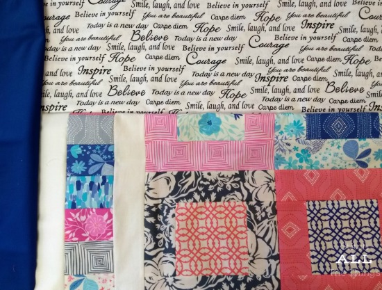 Stitch ALL The Things | Paradiso Quilt parts