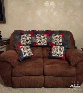 Stitch ALL The Things | Sturgis Quilt & Throw Pillows